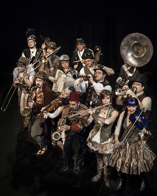 Emperor Norton's Stationary Marching Band