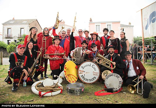 Second Line Social Aid and Pleasure Society Brass Band