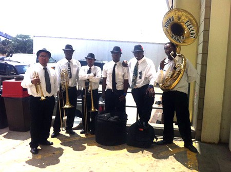 Young Fellaz Brass Band