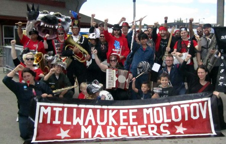 The Milwaukee Molotov Marchers